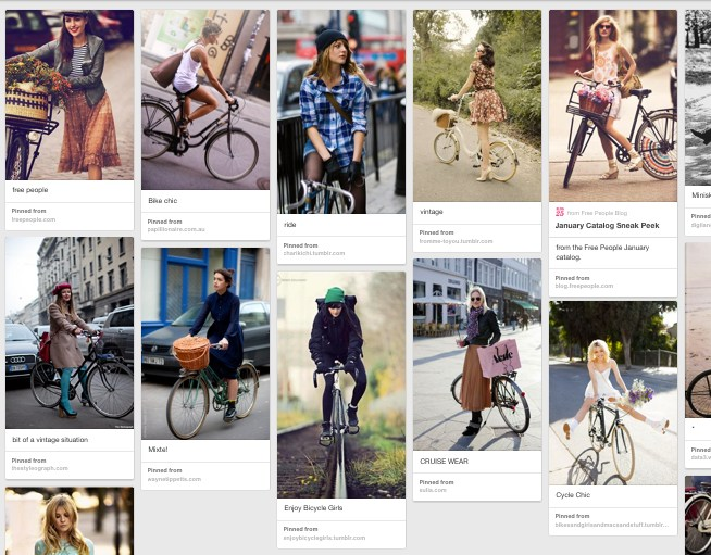Has Anyone Ever Pinned A Photo Of A Woman In A Bike Helmet On Their Pinterest Page Perched On A Cute Retro Cruiser Dress Fluttering In The Wind