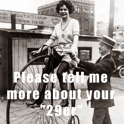 vintage bike lady 10 text